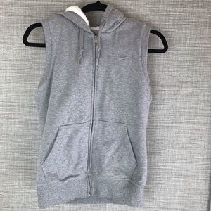 NIKE The Athletic Dept Vest Hoodie Size S